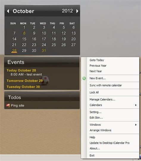 Icalendar Lite Freeware Calendar Desktop Icalendar Lite Rgdot