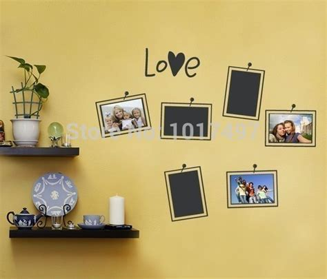 picture frame wall sticker aliexpress buy free shipping picture and photo frame