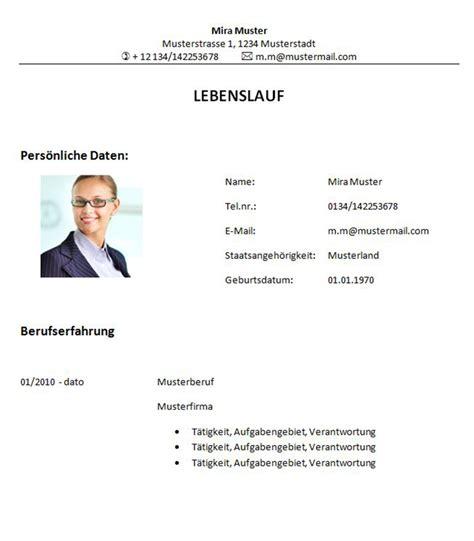 Professioneller Lebenslauf Vorlage Kostenlos Schweiz Professioneller Lebenslauf Muster Lebenslauf Beispiel