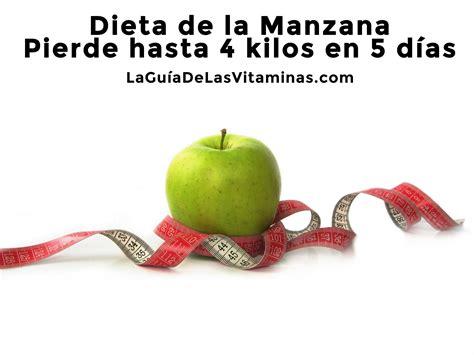 la dieta turbo de dieta de la manzana pierde hasta 4 kilos en 5 d 237 as la gu 237 a de las vitaminas