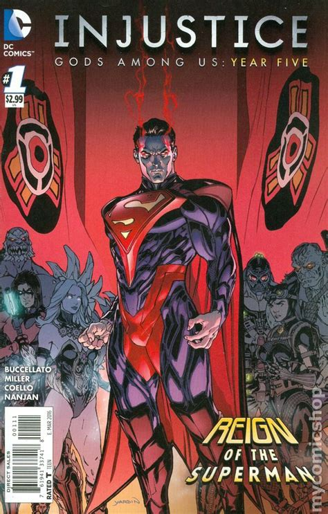 injustice books injustice gods among us comic books issue 1
