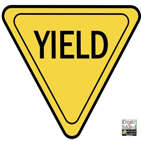 best yield yield sign clipart best