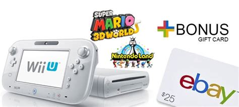 Wii Gift Cards - nintendo slaps a 25 gift card and discount on refurb wii u siliconera