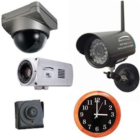 12 common types of security cameras ce pro