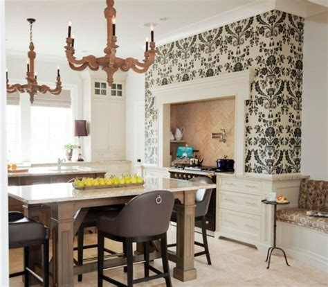 colorful wallpaper for kitchen 17 best images about kitchen wallpaper on pinterest