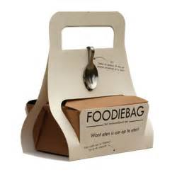 foodiebag to promote doggy bags and stop spilling food