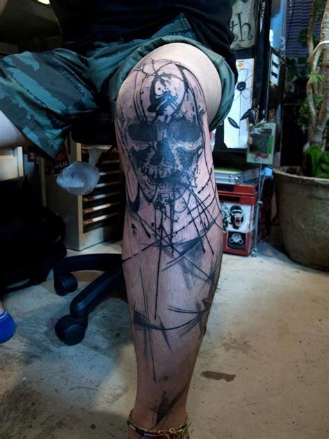 diamond knee tattoo 19 knee tattoo designs images and pictures