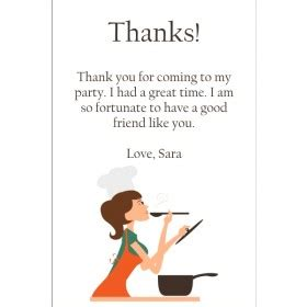 thank you letter to culinary pretty ballerina thank you cards select a dancer