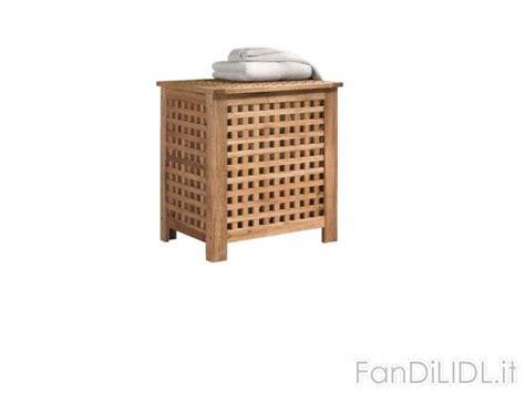 portabiancheria bagno cesto portabiancheria bagno accessori interno fan di lidl