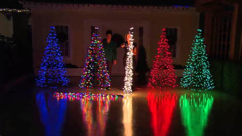 Pre Lit 6 Fold Flat Outdoor Christmas Tree By Lori How To Fix Lights On A Pre Lit Tree