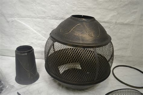 chiminea parts hton bay 54 in cast iron chiminea ebay