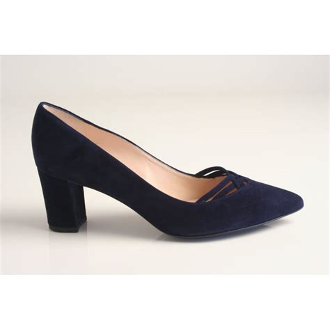 shoes uk kaiser kaiser style natasia navy suede
