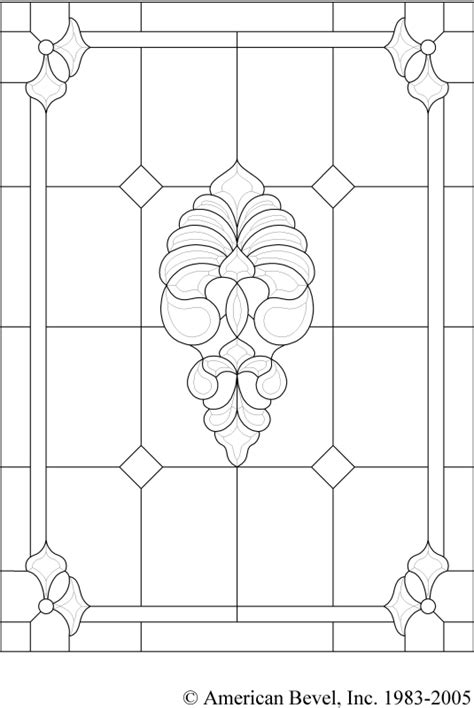 stained glass pattern design software american bevel stained glass bevel glass clusters