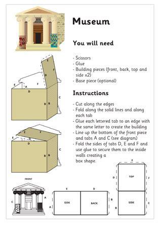 Bedroom Office Ideas 3d model building museum craft activities for kids