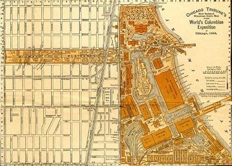 chicago map world augury inventing the modern world