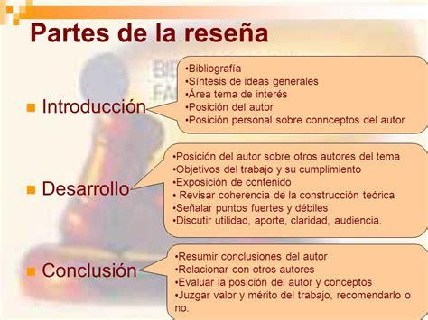 Resumen Y Sus Partes by El Resumen Y La Rese 241 A Bibliogr 225 Fica Ppt