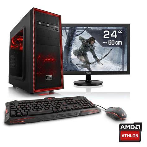Ram Komputer Gaming csl gaming pc set athlon x4 845 gtx 1050 ti 8gb ram 24 quot tft 187 sprint t4835 windows 10