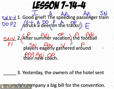 english pattern practice shurley english pattern one sentence classification