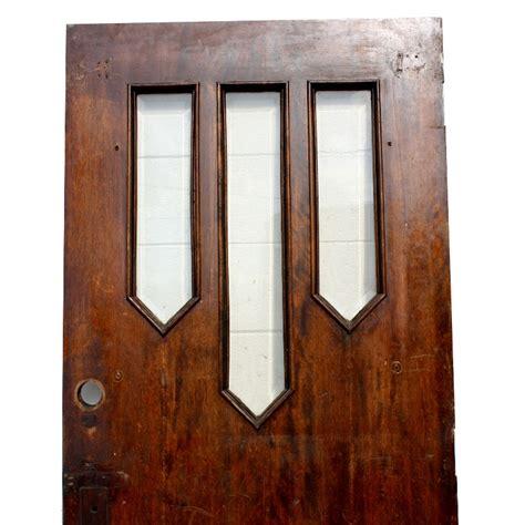 Reclaimed Antique 34 Entry Door With Beveled Glass Ned136 Antique Exterior Door