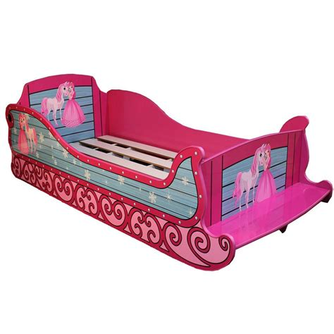 pink car bed for pink sleigh style single size bed car