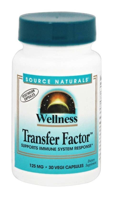 Vitamin Transfer Factor Buy Source Naturals Wellness Transfer Factor 125 Mg