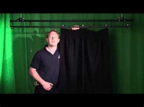 curtains show people how to measure stage curtains youtube