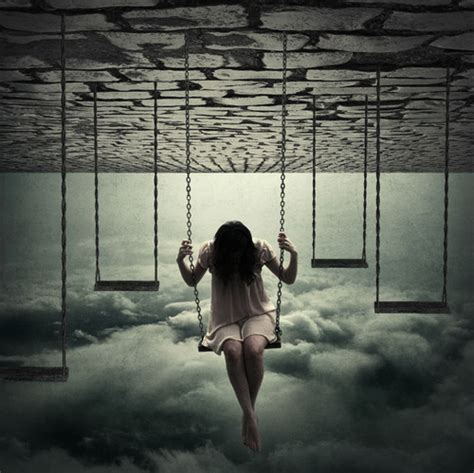 upside down swing amazing cloud girl hair invert image 322134 on