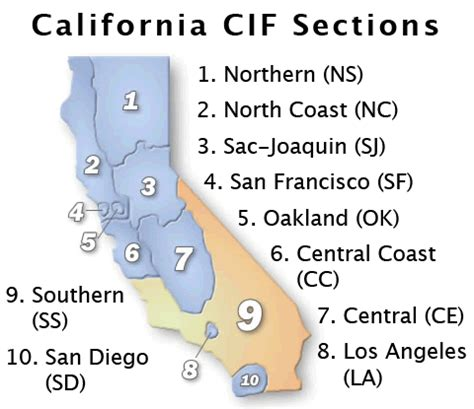 north section cif california cif ss division 1 prelims southern section