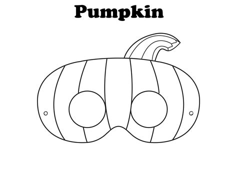 Free Printable Halloween Masks To Colour | 7 best images of halloween mask printable templates
