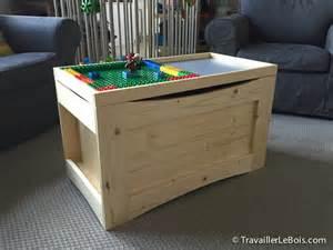 fabrication d un coffre 224 jouets en bois bas 233 sur des