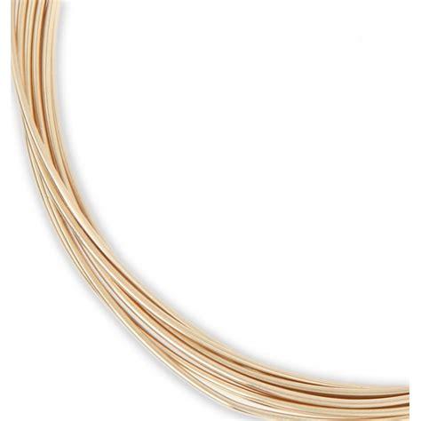 Hilo Gold hilo semi duro 0 72 mm de gold filled 12k x 1 5 m perles