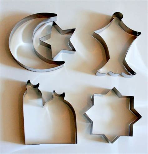 aladdin l cookie cutter islamic eid ramadan cookie cutter set 5 stainless