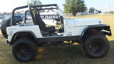 Best Lift For Jeep Tj 1992 Jeep Yj Wrangler 4x4 Low Price In Maryland 4 Lift 35