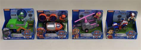 4 nuovo scatola spin master nickelodeon paw patrol personaggio tv giocattolo veicolo serie