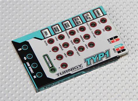 Rc Car Hobby King Hkss Program Card Pc For Hk Sensored Esc Brushless Turnigy Ty P1 25 Brushless Esc Programming Card