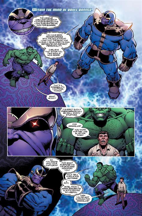 Preview Thanos Vs 2 Comic Vine