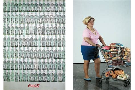 is consumerism depicted in a relevant critique of