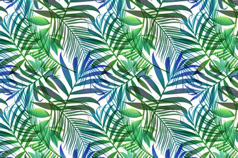 jungle pattern vector tropical pattern jungle palm leaves patterns creative