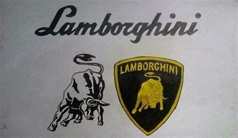 lamborghini logo sketch lamborghini logo sharvil sawant draw to drive