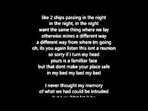 amy winehouse in my bed lyrics amy winehouse in my bed lyrics youtube