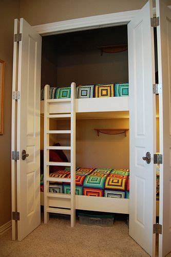 Bunk Beds Separate Diy Unique Built In Bunk Beds Closet Bed Child Room And The Doors