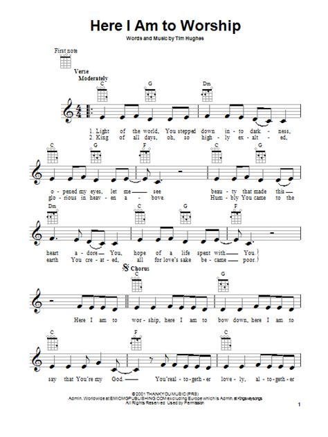 Piano Chords For Worship Songs