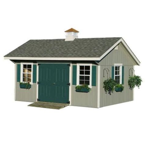 homeplace structures 12 ft x 16 ft bungalow garden