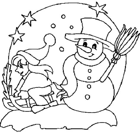 coloring pages winter season winter colouring pictures for children coloring home
