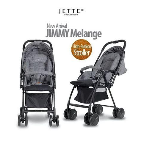 Jette Jimmy Stroller Melange jual murah jette jimmy stroller melange kereta dorong bayi