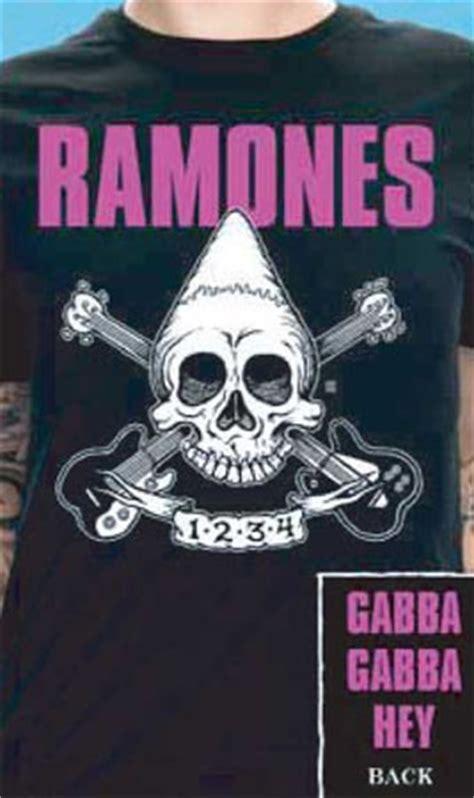 gabba hey store ramones pinhead on front gabba gabba hey on back on a