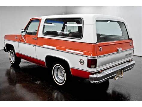 1976 chevrolet blazer 1976 chevrolet blazer trucks