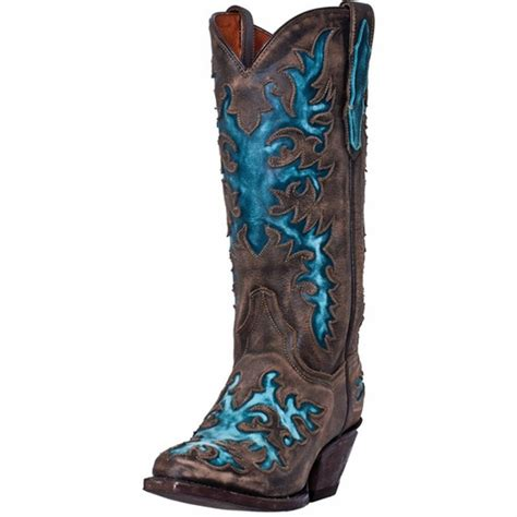 dan post western boots womens cowboy touche brown