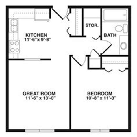 700 square apartment floor plan 700 sq ft floor plans house floor plans