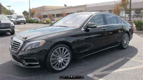 2014 Mercedes S550 Review by 2014 Mercedes S550 Start Up Exhaust And In Depth